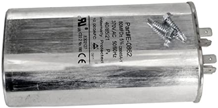 Zodiac R3001203 80/370 Compressor Capacitor Replacement for Select Zodiac Jandy Air Energy Pool and Spa Heat Pumps
