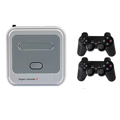 Consola de juegos retro Controlador de juegos de TV inalámbrico para el hogar Juego de 4K HD Compatible con salida HDMI y AV Consola de juegos que admite juegos multijugador y tarjeta TF de 256GB