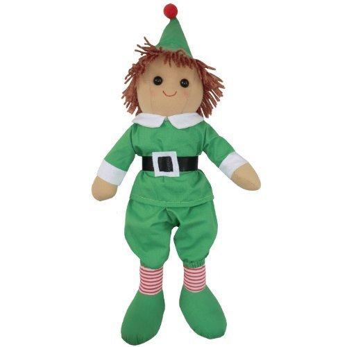 Rag Doll - Christmas Elf - Handmade - Large 40cms - Powell Craft