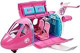 Barbie Mobilier l'Avion de Rêve pour poupées, avec mobilier, rangements et plus de 15 accessoires, jouet pour enfant, GDG76