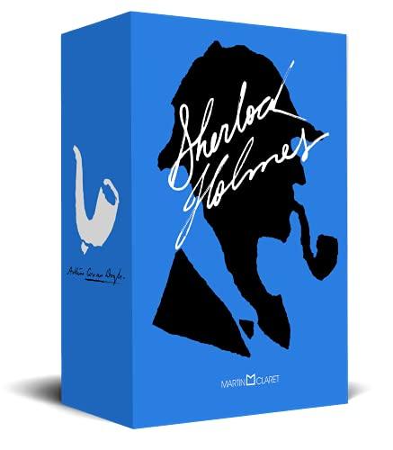 Kit Sherlock Holmes: Os arquivos de Sherlock Holmes, O cão dos Baskerville, As aventuras de Sherlock Holmes
