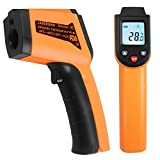 Infrared Thermometer -50°C to 400°C(-58°F to 752°F), Kitchen Digital Laser Infrared Temperature Gun for Objects and Water