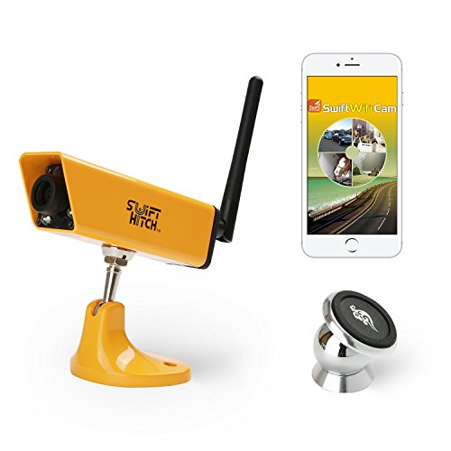 Swift Hitch SH04 Wireless-Batterie-Backup-Kamera-System für Anhängerkupplung nach Oben, Rv Rückansicht Via WiFi Link und Überwachung auf iPhone/Ipad oder Android-Geräten