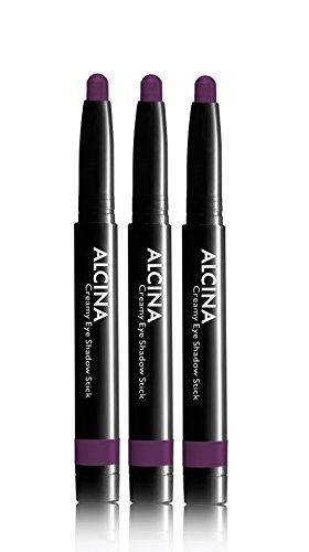 3er Creamy Eye Shadow Stick Plum 020 Dekorative Kosmetik Alcina Langanhaltend