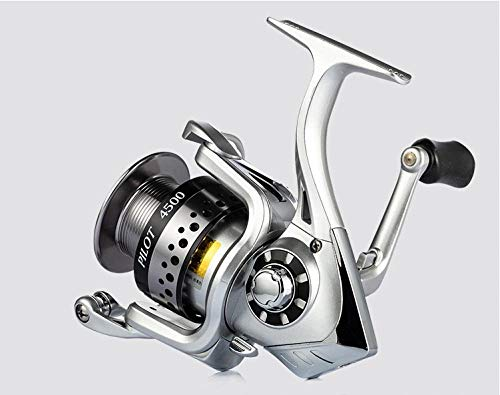 XXBFDT Carrete de Pesca de Arrastre Delantero Manija Plegable - Carrete Giratorio-Modelo 3500