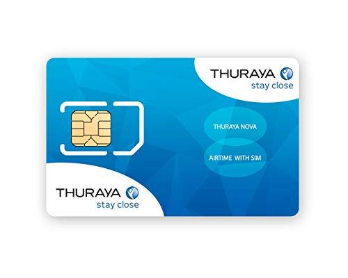 Thuraya NOVA-SIM mit 10 Einheiten (11 Minuten)