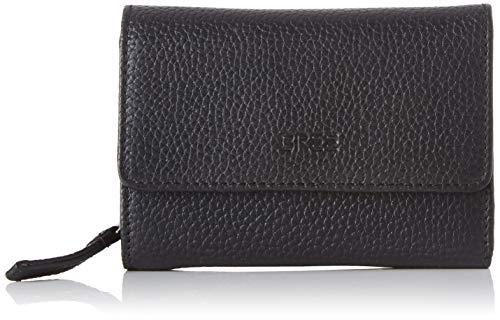 BREE Collection Damen Liv New 108, Zipped Combi. Purse Geldbörse, Schwarz (Black), 3x9.5x13 cm