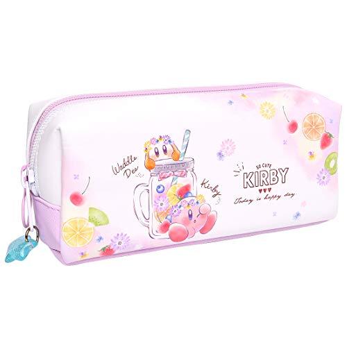 ペンケース 高校生 大容量 星のカービィ カービー 筆箱 子供 ボックスペンケース おしゃれ 可愛い ペンポーチ キャラクター ピンク パステル ファンシー