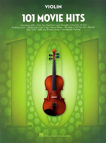 101 movie hits for violin violon
