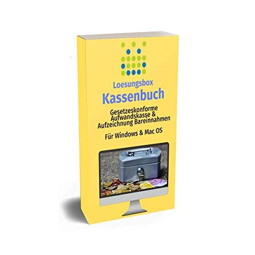 Kassenbuch Software für Kleinunternehmer und Selbstständige - Einfache Verwaltung von Bargeschäften - Für Windows & Mac OS - 10€ Jahresgebühr inkl. Support