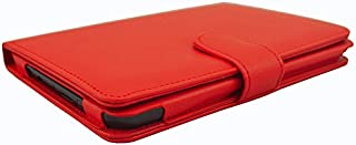 Funda para Amazon Kindle Paper White 6.0 pulgadas – Funda Funda Skin Cover Modelos 1 2 3 (Rojo)