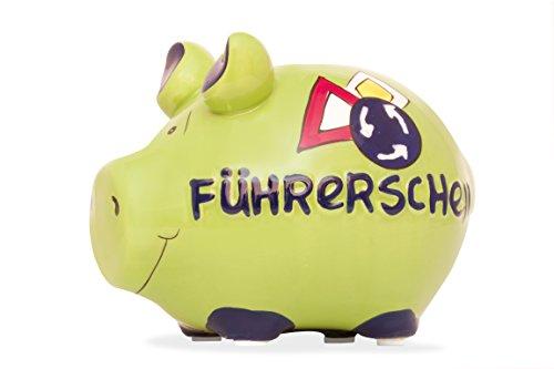 KCG Sparschwein Führerschein - Kleinschwein Spardose
