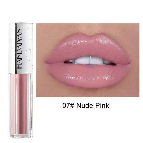 Fousamax Matte Liquid Lipstick, Antihaft-Tasse, kein Abrieb Make-up Samt Lipgloss Kosmetik,...