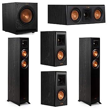 Klipsch 5.1 System with 2 RP-4000F Floorstanding Speakers 1 Klipsch RP-400C Center Speaker 2 Klipsch RP-400M Surround Speakers 1 Klipsch SPL-100 Subwoofer