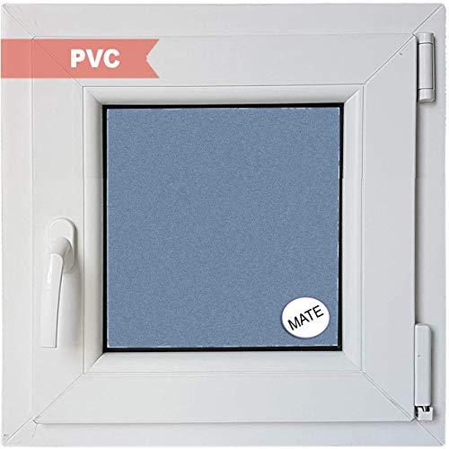 Ventanastock Ventana PVC Practicable Oscilobatiente Derecha 600 ancho x 600 alto 1 hoja con vidrio Carglass (Climalit Mate)