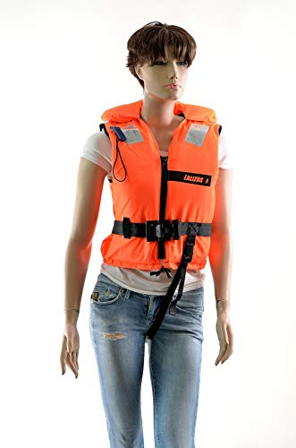 wellenshop Rettungsweste 100N 30-40kg Lalizas ohnmachtssicher, Kind, Schwimmweste, Feststoffweste