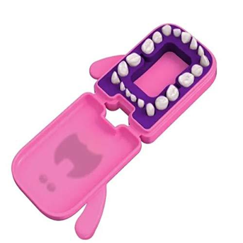 Porta Dentinhos Rosa, Angie, Rosa, Tamanho Único