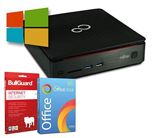 Fujitsu Esprimo Q520 Mini-PC | Intel Core i3-4350T@ 3,1GHz | 4GB | 320GB HDD | Windows 10 Pro | BullGuard | SoftMaker Office
