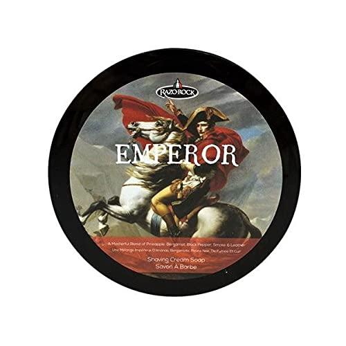 RazoRock Jabón de Afeitar Emperor 150ml, Único, Estándar