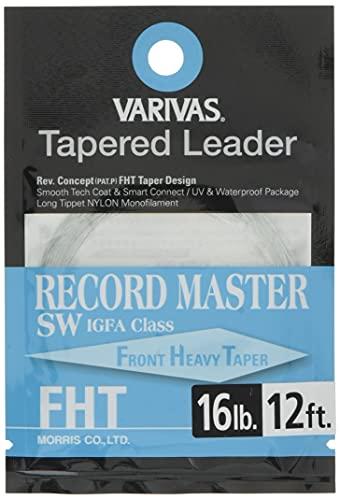 VARIVAS(バリバス) ハリス テーパードリーダー レコードマスターSW FHT IGFA 12ft 16LB TL-20