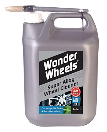 Wonder Wheels The Original Alloy Wheel Cleaner - 5L - Auto Express Best Buy - Easy to Apply -...