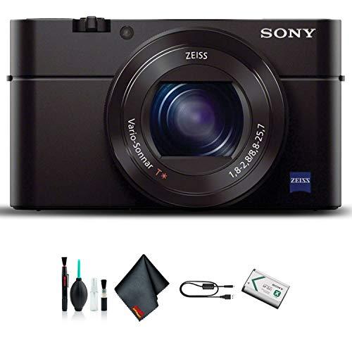 Sony Cyber-Shot DSC-RX100 III Camera DSCRX100M3/B (International Model) Starter Kit