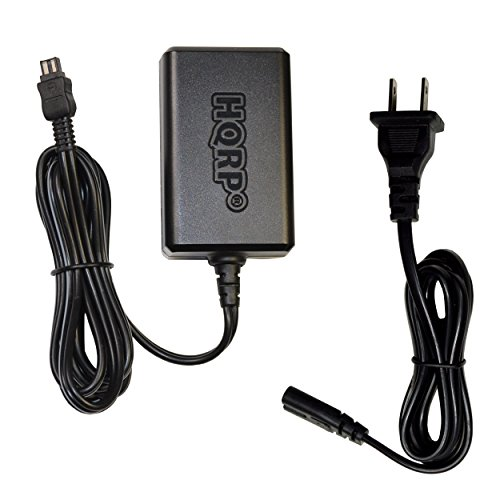 HQRP 8.4V AC Adapter Charger works with Sony AC-L10A L10B L10C L10 L15 L100 HandyCam CCD-TRV108 CCD-TRV118 CCD-TRV128 CCD-TRV138 CCD-TR748 CCD-TR748E CCD-TR648 CCDTR648E CCDTRV238 CCDTRV238E Camcorder