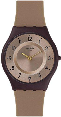 Swatch Reloj Digital para Mujer de Cuarzo con Correa en Plástico SFC106