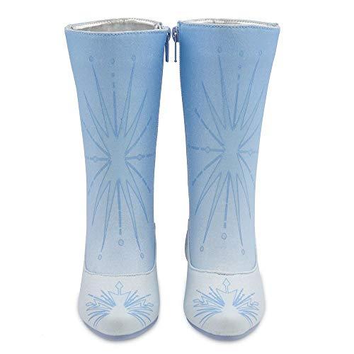 D Disney Store Elsa - Botas de Disfraz para niños, Frozen 2 – Talla UK; 13/1 – EU; 32/33