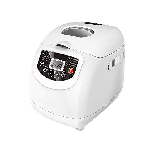 Hammer Completamente automatiche ad uso domestico macchina del pane, Doppia miscelazione e pasta e caffè, 16 funzioni preimpostate for il pane Principiante amichevole Bakery Macchina for il pane 550W,