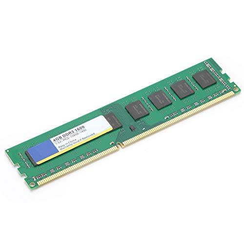 Socobeta PC3‑12800 1.5V Barra de Memoria de computadora Módulo de Memoria 4GB Memoria de computadora de Escritorio 1600Mhz para Juegos en Funcionamiento