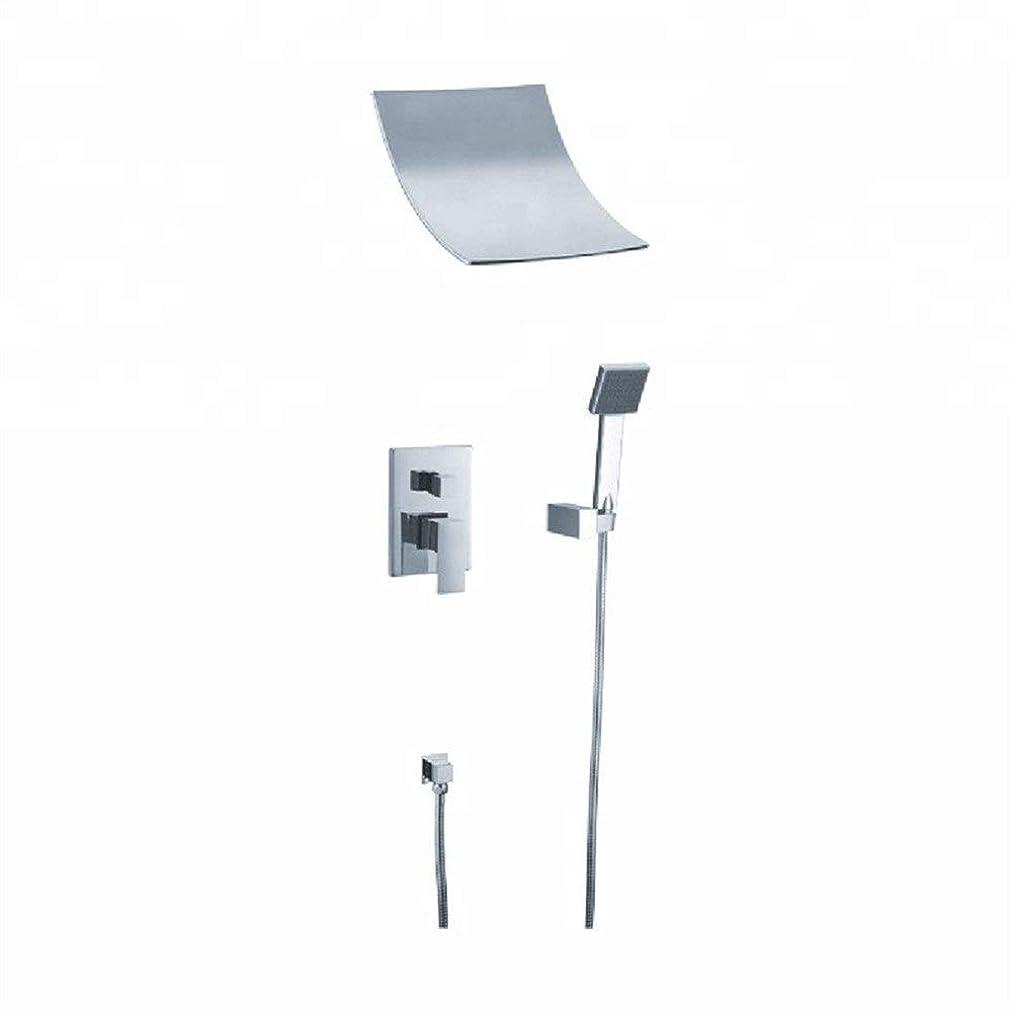 累計丘レジデンスYASE-king ハンドとハンドシャワーヘッドキットレインシャワー蛇口セットバスタブミキサースパウトをタップして、(:SM21016バス&シャワーの蛇口のタイプ)浴室のシャワーヘッドスプレー