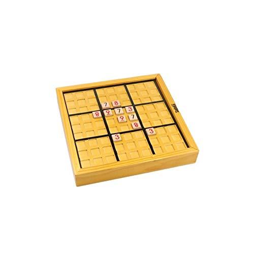 Desconocido Sudoku 9 x 9 - Jouet éducatif en Bois - Pour Enfants de Plus de 3 ANS