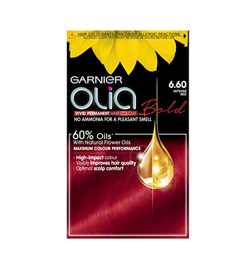 Garnier Olia Permanent Hair Colour Intense Red 6.60