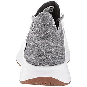 New Balance Women's Fresh Foam Roav V1 Running Shoe, Munsell White/Black, 7.5