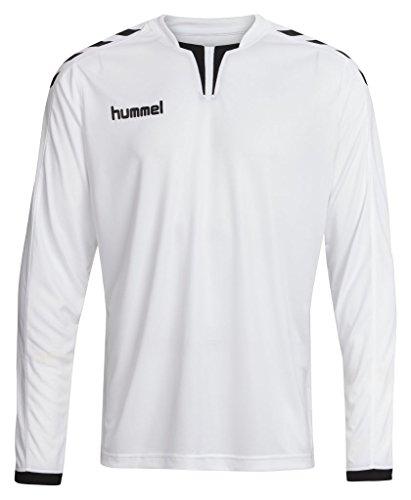 Hummel Sport Hummel Core Long Sleeve Soccer Jersey, White/Black, Large