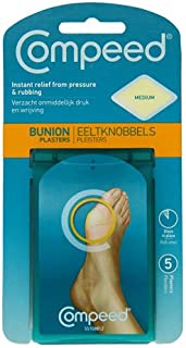 Compeed Bunion Plasters X5 - Instant Relief From Pressure & Rubbing - Medium Size