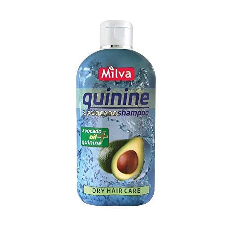 Trockenes Haar Pflege Chinin & Avocado Shampoo fördert das Wachstum der gesunden, Kräftiges Haar und eliminiert Haarausfall 200ml