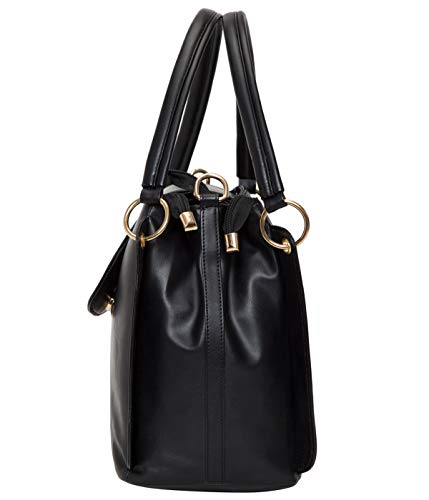 ADISA Women's Handbag (AD4055-BLA_Black)