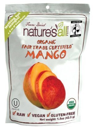 Natures All Mango Frz Drd Raw Org