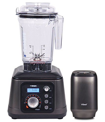 Tribest Dynapro DPS-1050A-B Commercial Antioxidation Vacuum Blender