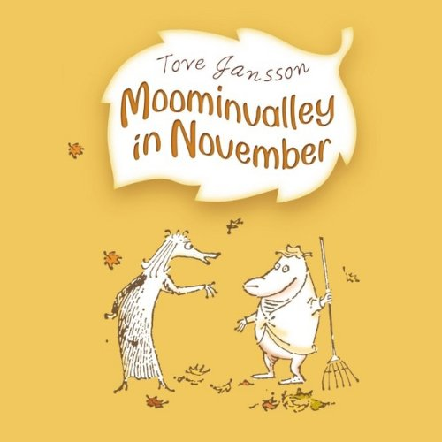 Moominvalley in November audiobook cover art