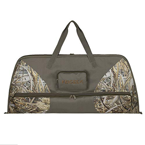 """mydays Compound Bow Case,FEIGEER Camo Soft Bow Case with Thick Protective Foam Padding for Archery Accessories,41"""" (Camo, 41"""")"""