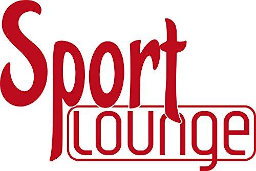 GRAZDesign Wandtattoo Sport Lounge Wand-Deko für Sportraum Sportler Motivation, Fitness, Fitnessraum (85x57cm//031 rot)