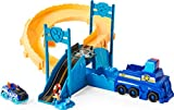 Paw Patrol, True Metal Chase Rescue Track Set with Exclusive Chase Die-Cast Vehicle, 1:55 Scale Kids Toys for Boys