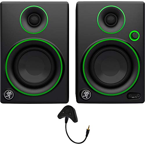"""Mackie CR Series CR3-3"""" Creative Reference Multimedia Monitors (Pair) + Includes Bluetooth 2-in-1 Wireless Audio Receiver"""