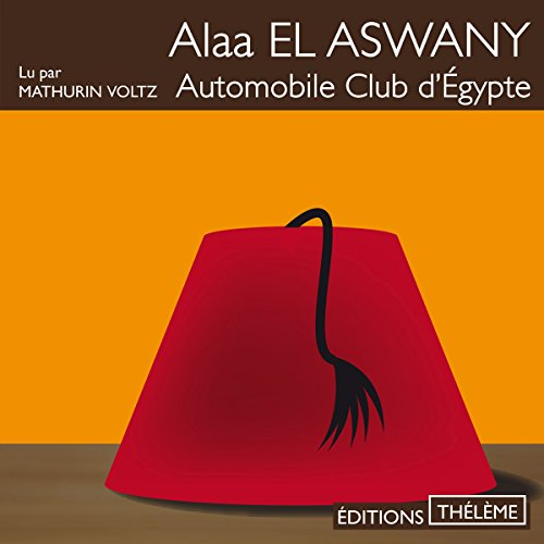 Automobile club d'Égypte audiobook cover art