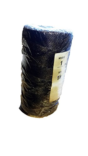 Batting Cage Repair Twine Lacing Cord 1000ft Tarred Weather Resistant