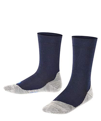 FALKE Unisex Kinder Active Sunny Days K SO Socken, Blau (Dark Marine 6170), 35-38