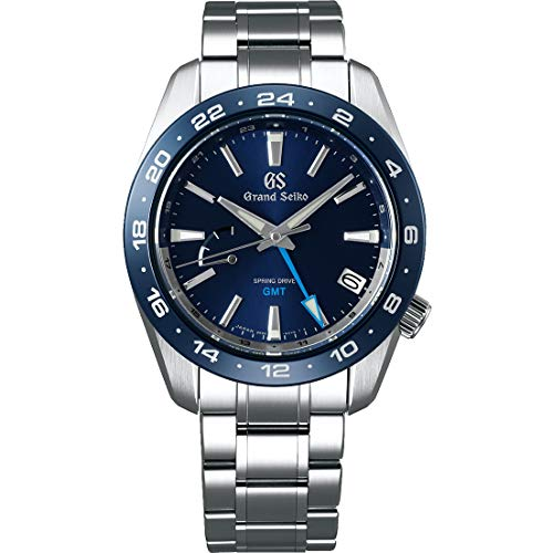 Grand Seiko Blue Dial Spring Drive GMT Sport Watch SBGE255